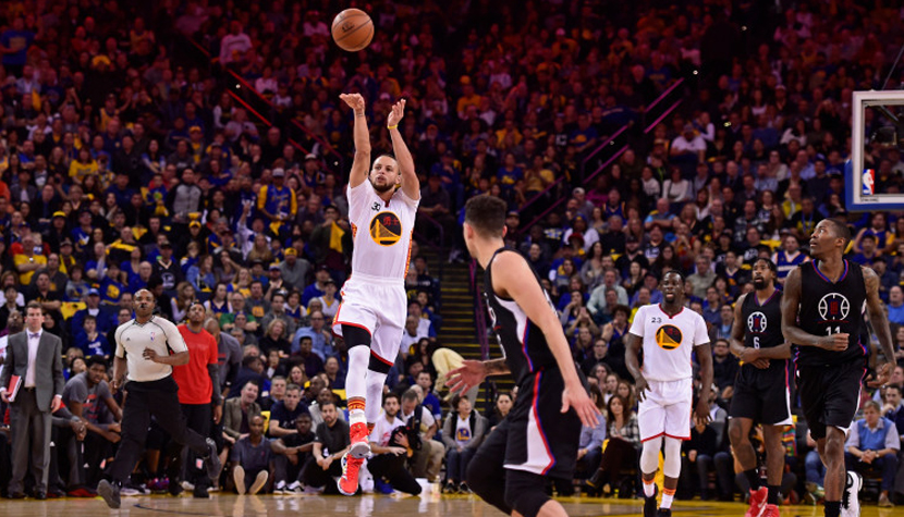 Steph Curry and the Golden State Warriors beat Clippers