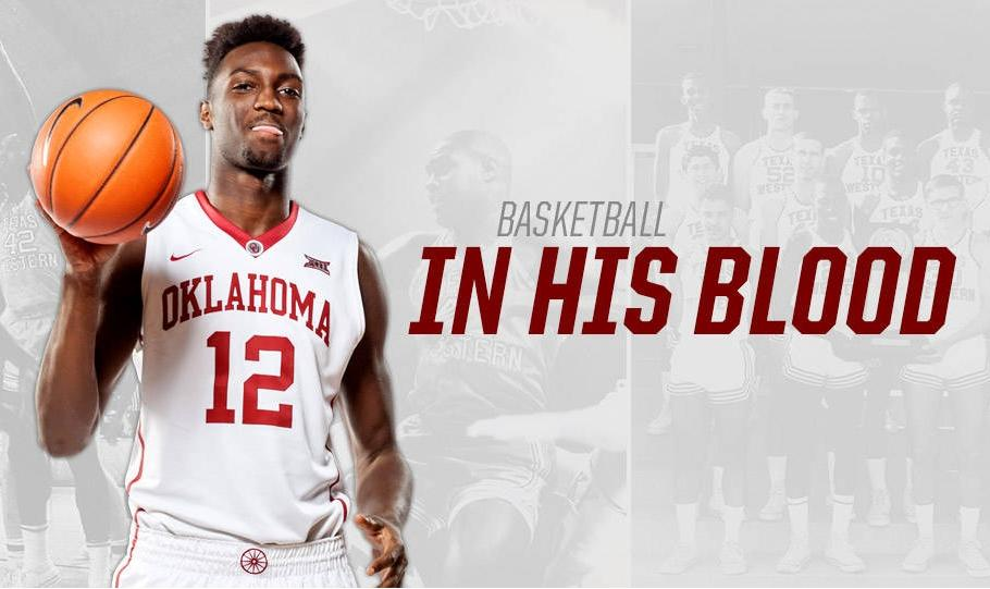 Khadeem Lattin Sooner Basketball