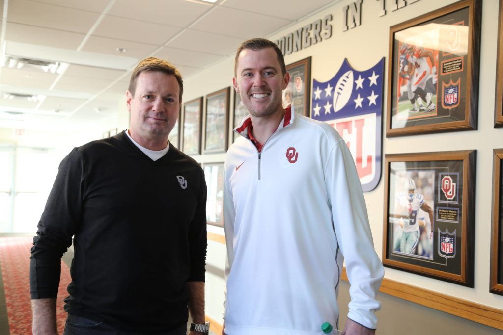 Lincoln Riley Oklahoma Sooner Sports