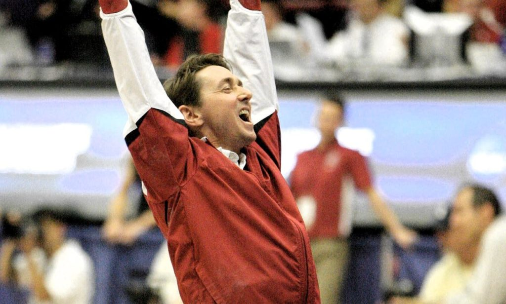 Sooners Gymnastics Coach Mark Williams