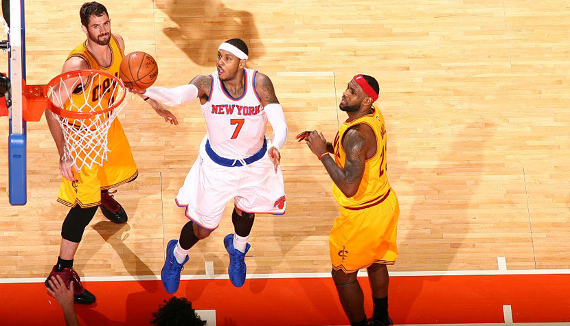 Carmelo Anthony Cleveland Cavalier